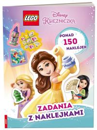 LEGO Disney Księżniczka Zadania z naklejkami SAF-6101 -  | mała okładka