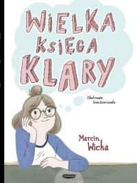 Wielka księga Klary - Marcin Wicha   mała okładka