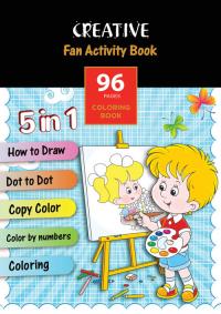 Książeczka do kolorowania Fun Activity Book -    mała okładka