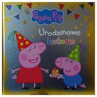 Świnka Peppa Urodzinowe historie -  | mała okładka