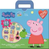 Świnka Peppa Kocham naklejać -  | mała okładka
