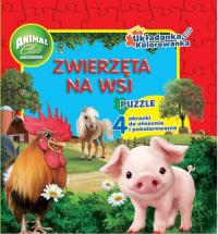 Animal Club Układanka Kolorowanka Zwierzęta na wsi -  | mała okładka