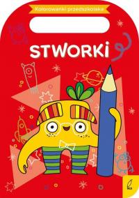 Kolorowanki przedszkolaka Stworki -  | mała okładka