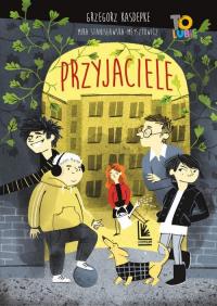 Przyjaciele - Grzegorz Kasdepke | mała okładka