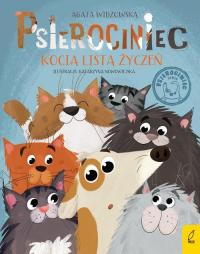 Psierociniec Kocia lista życzeń Tom 4 - Agata Widzowska | mała okładka