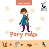 Maluch poznaje Pory roku - Joanna Liszewska | mała okładka