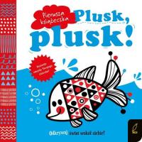 Pierwsza książeczka Plusk plusk! -    mała okładka