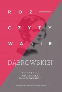 Rozczytywanie Dąbrowskiej -    mała okładka