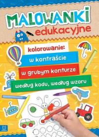 Malowanki edukacyjne -  | mała okładka