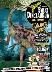 Świat Dinozaurów 17 Gallimim -  | mała okładka