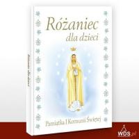 Różaniec dla dzieci Pamiątka I Komunii Świętej - Halina Błaż   mała okładka