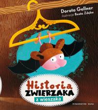Historia zwierzaka z wieszaka - Dorota Gellner   mała okładka
