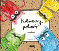 Kolorowy potwór. Książka Pop-up - Anna Llenas | mała okładka