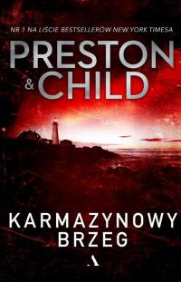 Karmazynowy brzeg - Preston Douglas, Child Lincoln | mała okładka