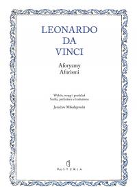Aforyzmy. Aforismi - Da Vinci Leonardo   mała okładka
