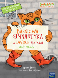Baśniowa gimnastyka w dwóch językach. Nowe zabawy - Monika Hałucha | mała okładka
