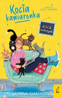 Kocia kawiarenka Kocie walentynki Tom 3 - Katrina Charman | mała okładka