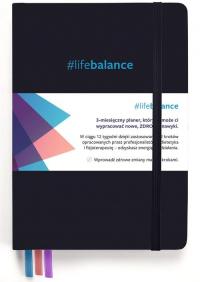 Planner #lifebalance 12 tygodni do zdrowego stylu życia - Podgórska Ludmiła, Waszkiewicz Marta   mała okładka
