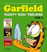 Garfield Tłusty koci trójpak Tom 4 - Jim Davis | mała okładka