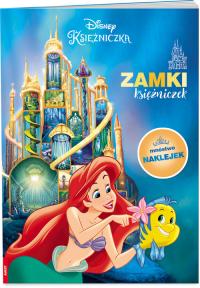 Disney Księżniczka Zamki księżniczek PAD-9101 - zbiorowe opracowanie   mała okładka