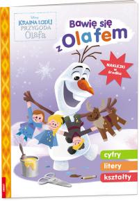 Kraina lodu Bawię się z Olafem OLF-9101 -    mała okładka