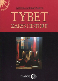 Tybet Zarys historii - Karenina Kollmar-Paulenz | mała okładka