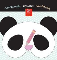 Książeczka do kolorowania Creative Maski Zwierząt -  | mała okładka