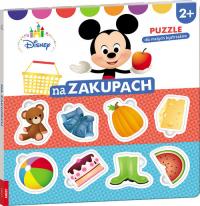 Disney Puzzle dla małych bystrzaków Na zakupach ELE-9201 -  | mała okładka