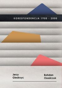 Korespondencja 1950-2000, Jerzy Giedroyc, Bohdan Osadczuk -  | mała okładka
