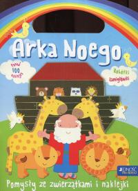 Arka Noego Pomysły ze zwierzątkami i naklejkami - Jocelyn Miller   mała okładka