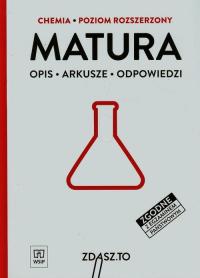 Matura Chemia Poziom rozszerzony Opis, arkusze, odpowiedzi -    mała okładka