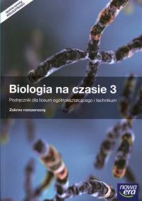 Biologia na czasie 3 Podręcznik Zakres rozszerzony Szkoła ponadgimnazjalna - Dubert Franciszek, Jurgowiak Marek, Marko-Worłowska Maria   mała okładka