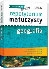 Repetytorium maturzysty Geografia - Agnieszka Łękawa | mała okładka