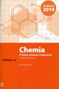 Chemia Próbne arkusze maturalne Zestaw 4 Poziom rozszerzony - Kamil Kaznowski | mała okładka