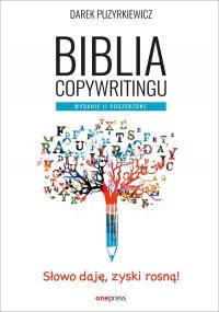 Biblia copywritingu - Dariusz Puzyrkiewicz | mała okładka