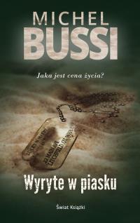 Wyryte w piasku - Michel Bussi | mała okładka