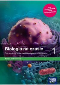 Biologia na czasie 1 Podręcznik Zakres podstawowy Liceum i technikum. Szkoła ponadpodstawowa - Helmin Anna, Holeczek Jolanta | mała okładka