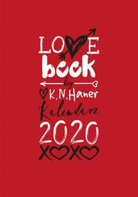 LOVE book by K.N. Haner. Kalendarz 2020 - K. N. Haner | mała okładka