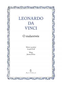O malarstwie - Leonardo Da Vinci   mała okładka