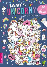 Lamy & Unicorny Activity z Naklejkami -  | mała okładka