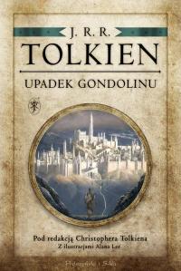 Upadek Gondolinu - J.R.R Tolkien | mała okładka