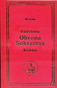 Obrona Sokratesa - Platon   mała okładka