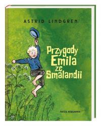 Przygody Emila ze Smalandii - Astrid Lindgren   mała okładka