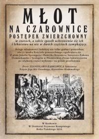 Młot na czarownice - Spengrer Jacob, Kramer Heinrich   mała okładka