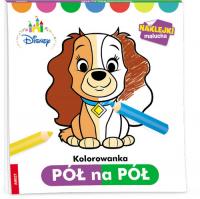 Disney Maluch Kolorowanka pół na pół PNP-1 - zbiorowa Praca | mała okładka