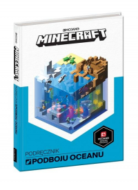 Minecraft Podręcznik podboju oceanu - Stephanie Milton | mała okładka