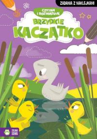 Czytam i rozwiązuję Brzydkie kaczątko - zbiorowa praca | mała okładka