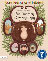 Pan Kudłaty i Cztery Łapy - Iwona Czarkowska | mała okładka