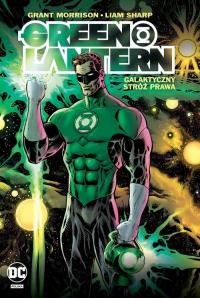 Green Lantern Tom 1 Galaktyczny Stróż Prawa - Grant Morrison | mała okładka