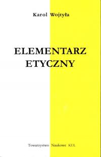 Elementarz etyczny - Karol Wojtyła | mała okładka